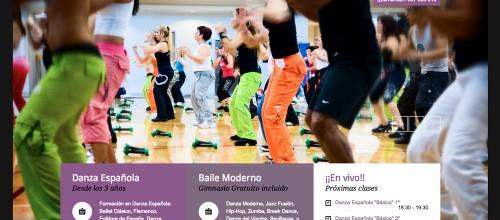 Academia de Danza Estrymens de Colindres estrena Web.
